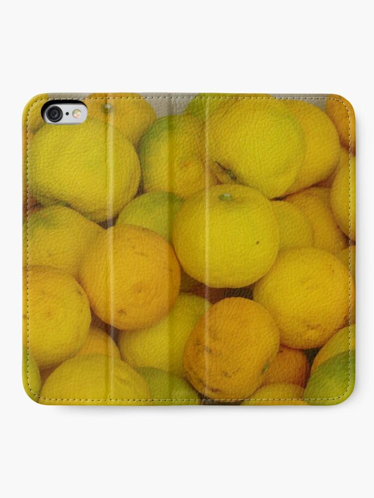 Alternative Ansicht von Zitronen iPhone Flip-Case