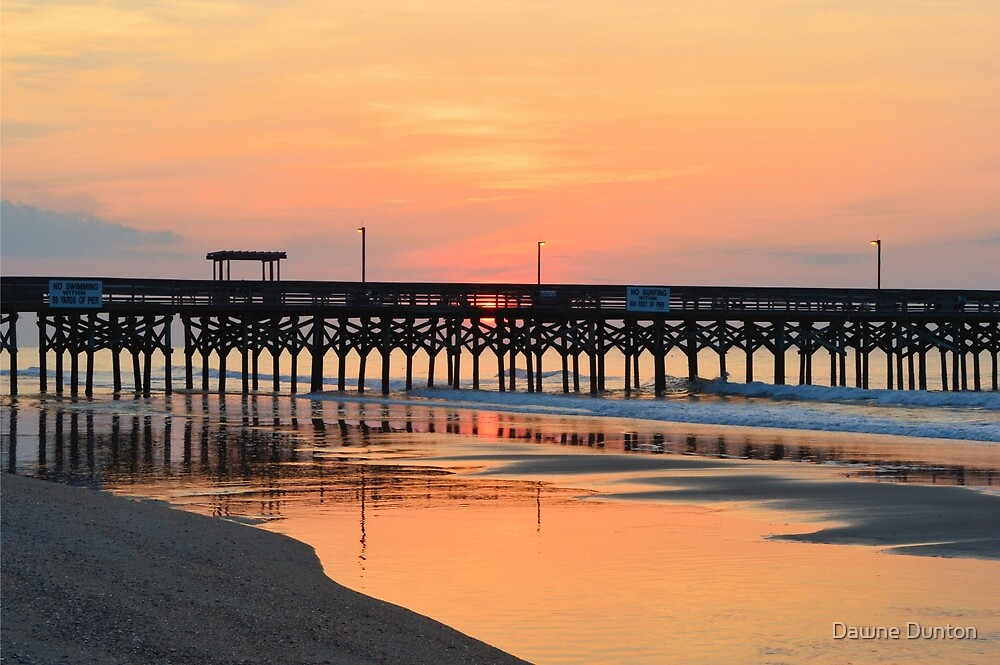 Morning Pier by Dawne Dunton