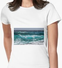 The Wave Women's Fitted T-Shirt
