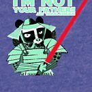«Tanuki I´m not your father green» de belettelepink