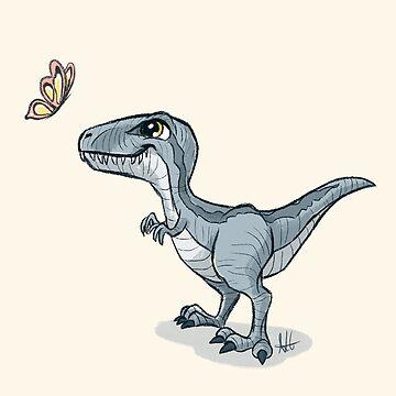 Baby Dinosaur by Garbancitalicia