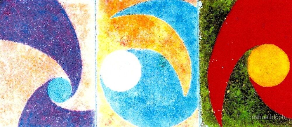 """Three swirls"" by joshua bloch"