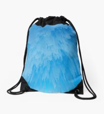 Ceiling of icicles Drawstring Bag