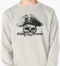 Pirates Adventure Mallorca Merchandise Skull White Pullover
