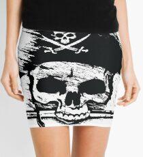 Pirates Adventure Mallorca Merchandise Skull White Mini Skirt