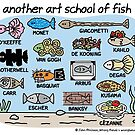 another art school of fish by WrongHands