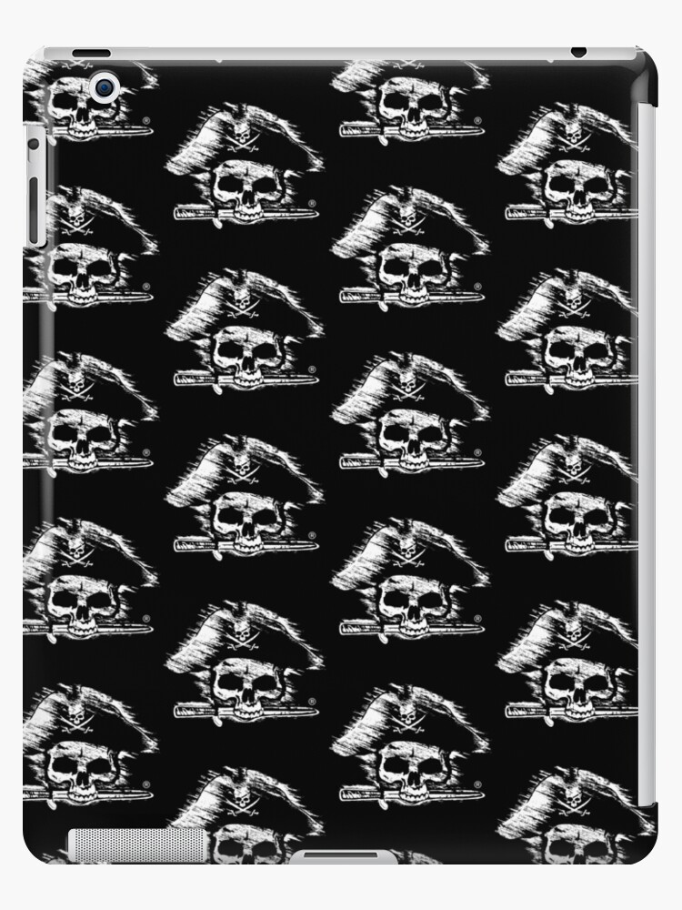 Pirates Adventure Mallorca Merchandise  Skull Black Pattern by PiratesMallorca