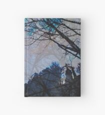 Stacked Trees  Hardcover Journal