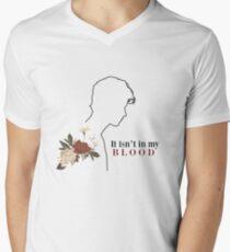 In My Blood - SM Men's V-Neck T-Shirt