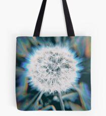 Psychedelic Dandelion Tote Bag