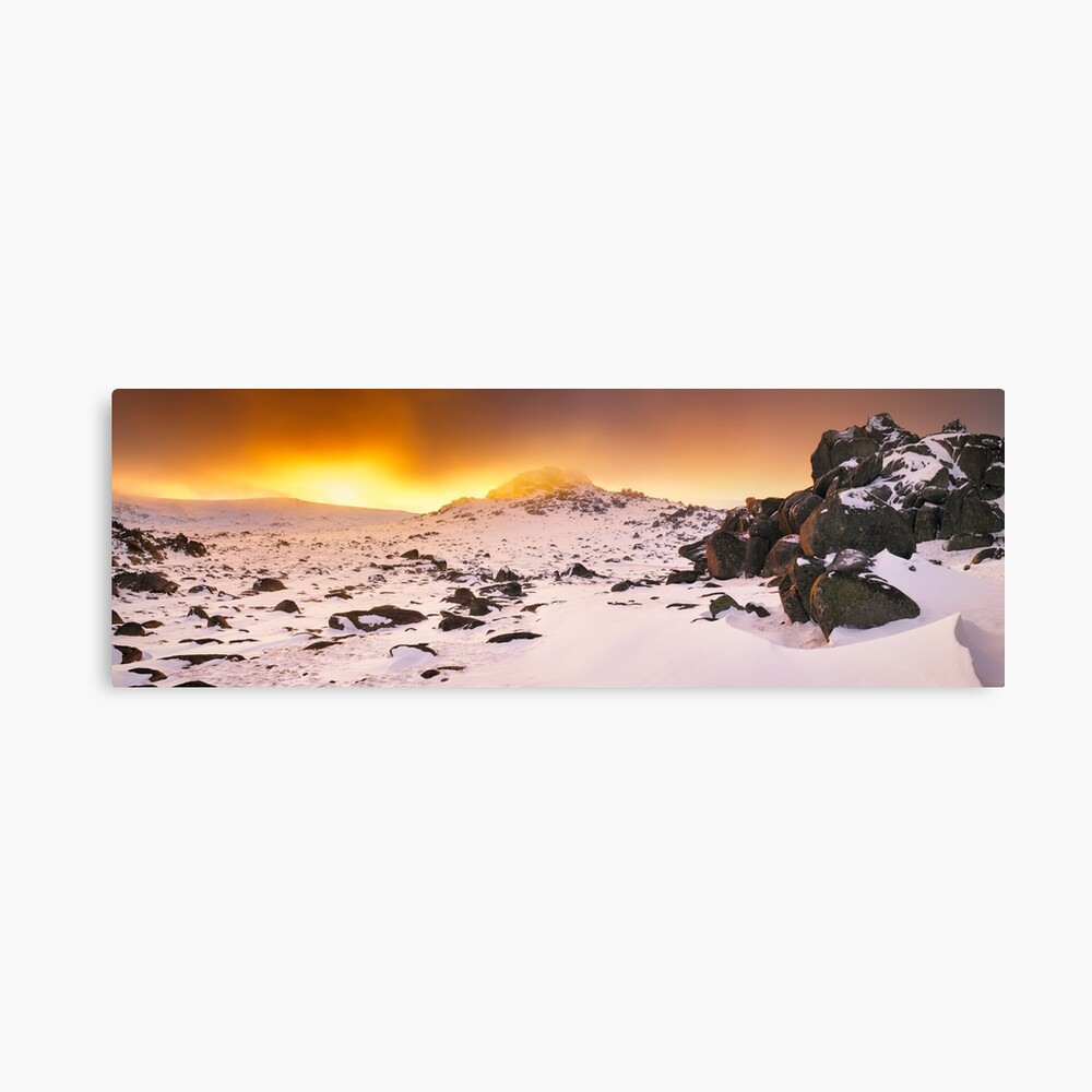 North Rams Head, Kosciuszko, New South Wales, Australia Canvas Print