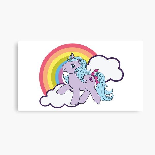 My Little Pony - 80s Canvas Print