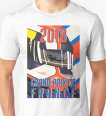 French GP 2018 poster Unisex T-Shirt