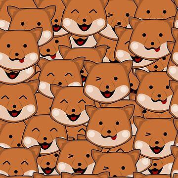 Dog Pattern by pda1986