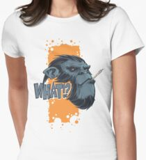 What!? Women's Fitted T-Shirt