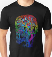 Brainbow Connection - Anatomy - Blood Supply to the Head Unisex T-Shirt