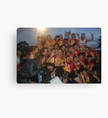 Espy Rockdogs 2009 Community Cup winners Canvas Print