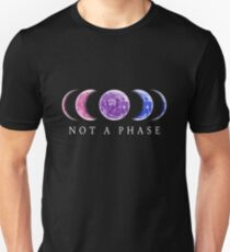 Not A Phase Bisexual Pride Unisex T-Shirt