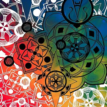 Mandala Burst by Fitzpatrick1992