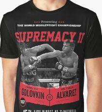 Golovkin vs Canelo 2 Graphic T-Shirt