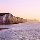 The Seven Sisters, Winter Sunrise by willgudgeon