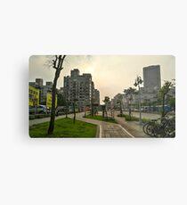 Cityscape Photograph Metal Print
