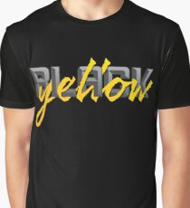 Black and Yellow Pittsburgh Fans Graphic T-Shirt