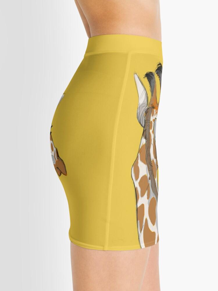 Alternate view of Giraffe Mini Skirt