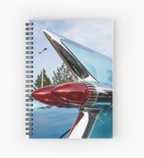 Cadillac fins and lights Spiral Notebook