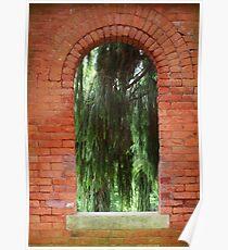 The Window- Vanderbilt Estate, Hyde Park, NY Poster