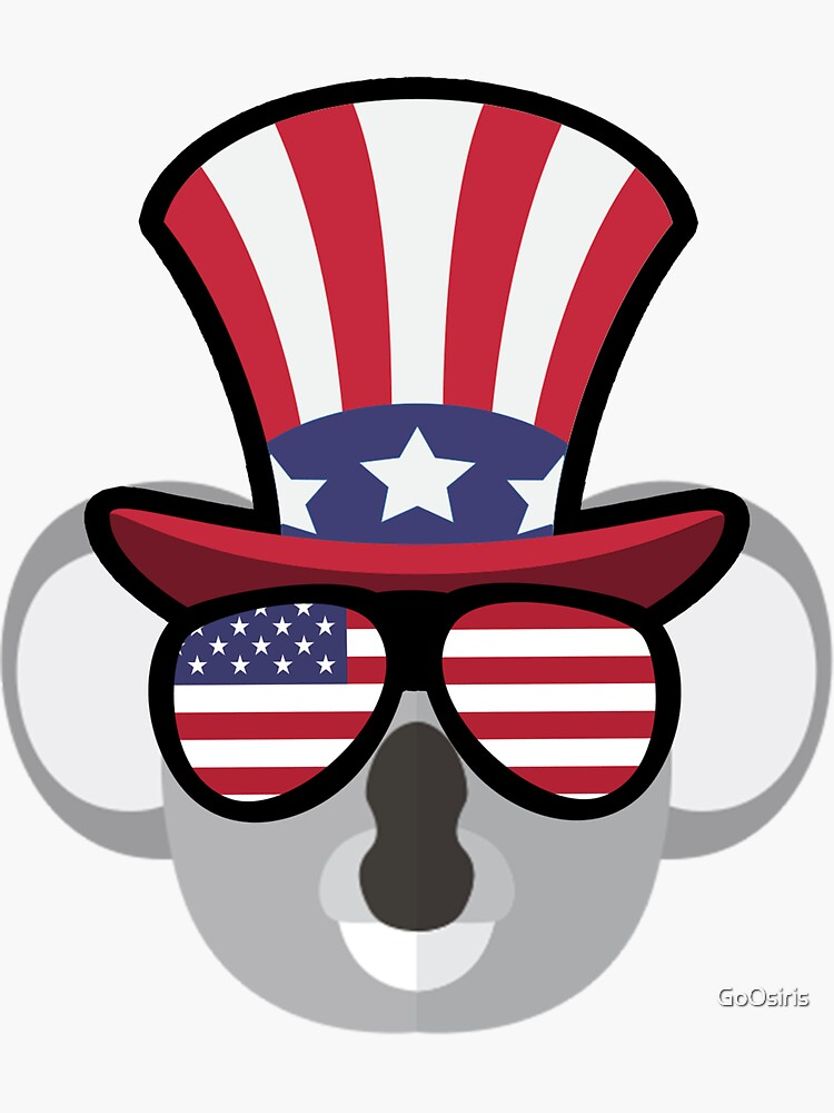 Koala Happy 4th Of July de GoOsiris