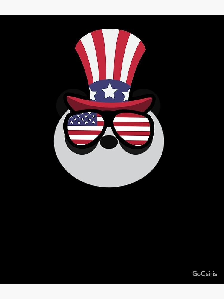 Panda Happy 4th Of July de GoOsiris