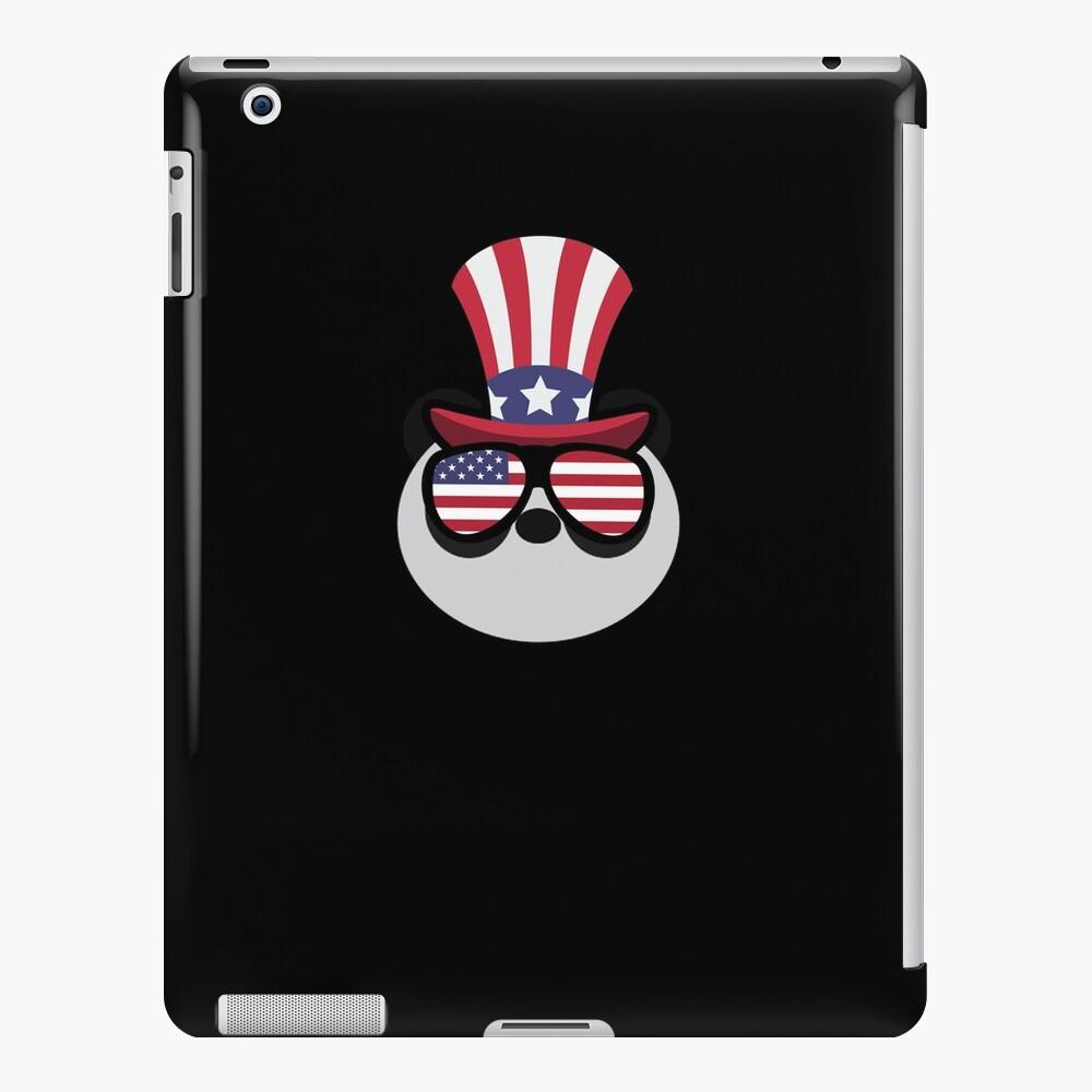 Panda Happy 4th Of July Funda y vinilo para iPad