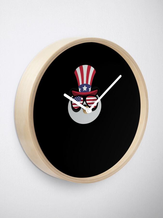 Vista alternativa de Reloj Panda Happy 4th Of July