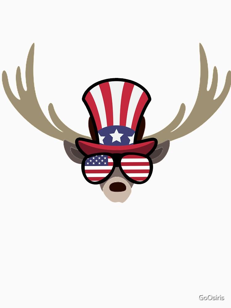 Deer Happy 4th Of July de GoOsiris