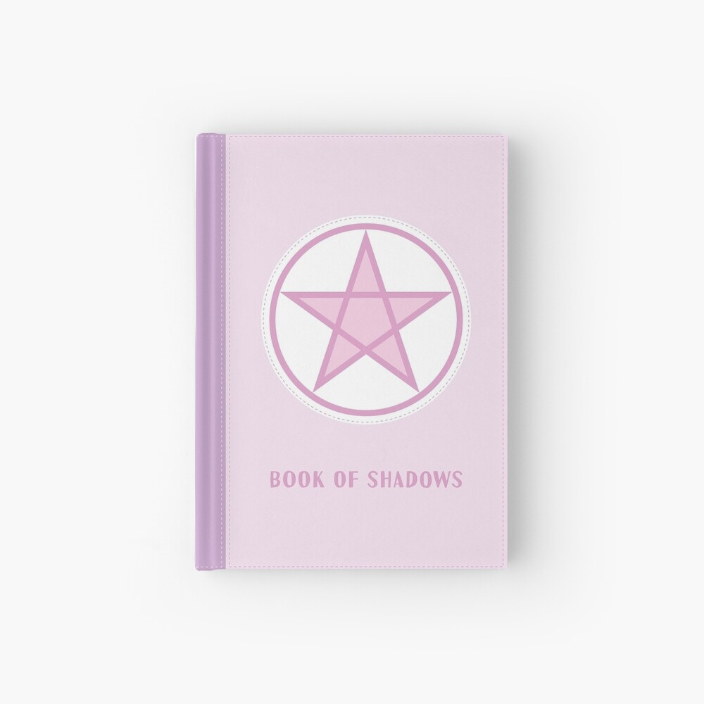 Kawaii Pastel Pink Book of Shadows Hardcover Journal