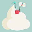 «Cereza en la parte superior (de la montaña de crema batida)» de EuGeniaArt