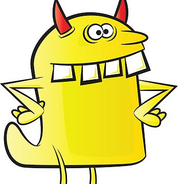 A Little Yellow Monster by robotmonsters