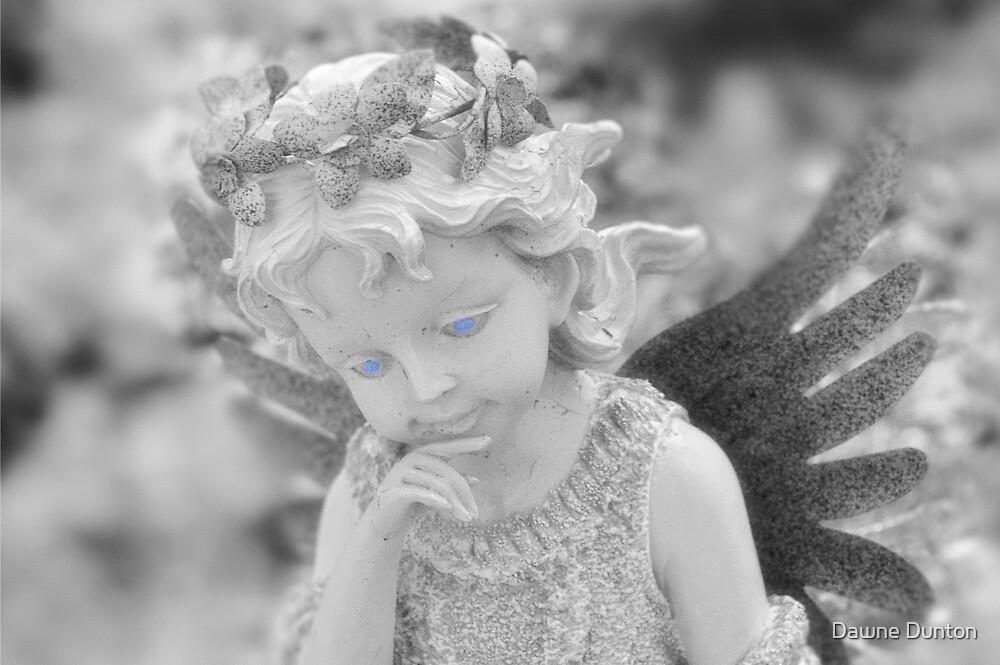 G-ma's Garden Fairy by ©Dawne M. Dunton