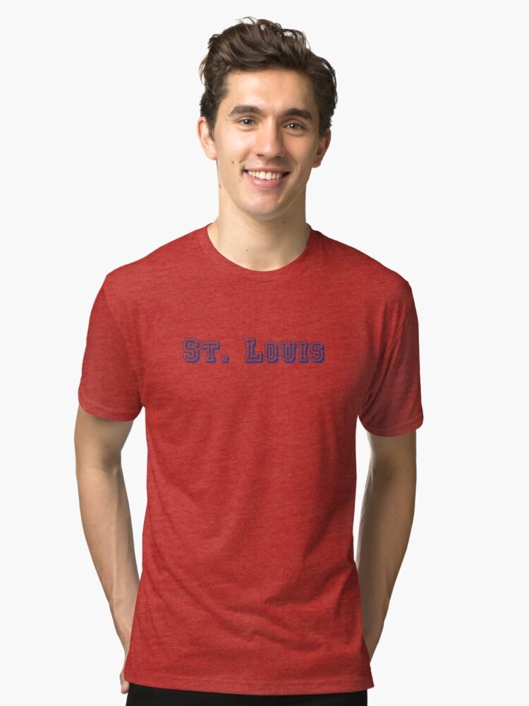 St Louis Tri Blend T Shirt