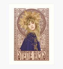 Stevie Nicks Illustration Art Print