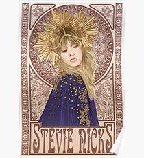 Stevie Nicks Illustration Poster