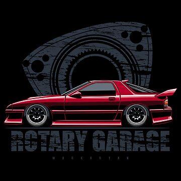 Rotary Garage. RX7 FC by OlegMarkaryan