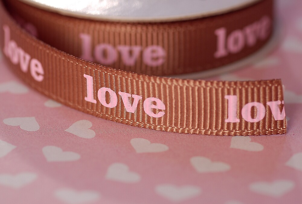 Ribbon of love ... by Denise Couturier
