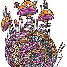 Mushroom Snail by ogfx