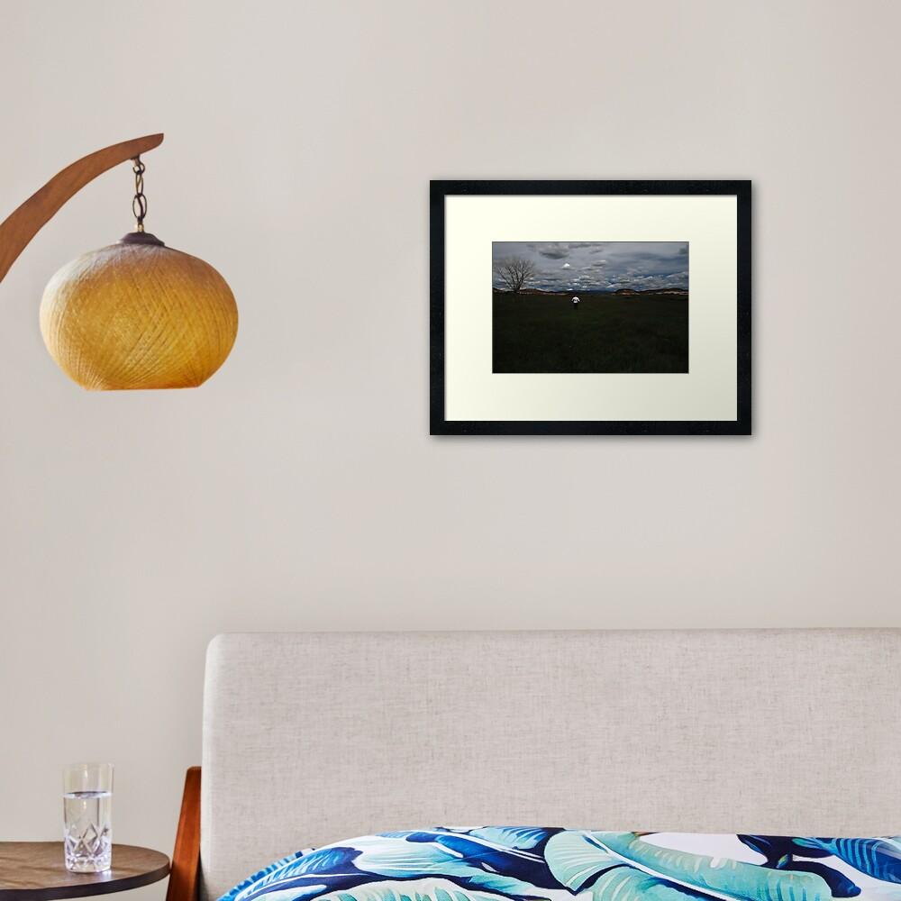 the irrigator Framed Art Print