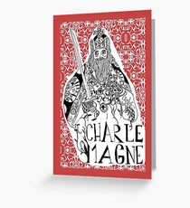 Charlemagne Greeting Card