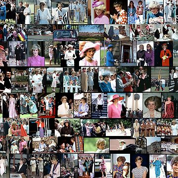 Stunning! HRH Princess Diana Photo Montage Collectors Edition No 2 by Picturestation