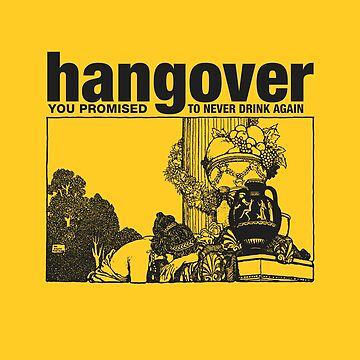Hangover Girl, You Promised to never drink again by reydefine