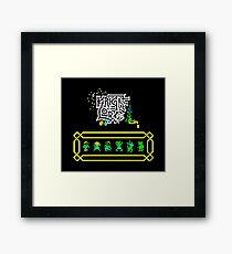 Gaming [ZX Spectrum] - Knight Lore Framed Print